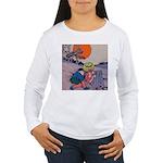 Jack Pumpkinhead #4 Women's Long Sleeve T-Shirt