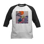 Jack Pumpkinhead #4 Kids Baseball Jersey