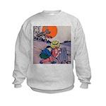 Jack Pumpkinhead #4 Kids Sweatshirt