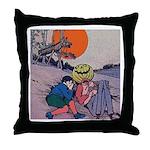 Jack Pumpkinhead #4 Throw Pillow