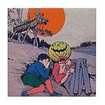 Jack Pumpkinhead #4 Tile Coaster