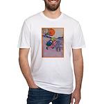 Jack Pumpkinhead #4 Fitted T-Shirt