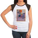 Jack Pumpkinhead #4 Women's Cap Sleeve T-Shirt