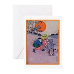 Jack Pumpkinhead #4 Greeting Cards (Pk of 10)