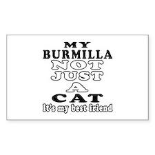 Burmilla Cat Designs Decal