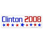 Clinton 2008 bumper sticker