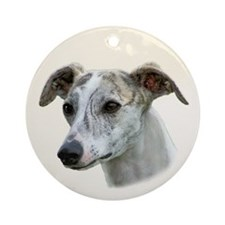 Whippet - Sight Hound - Show Dog Ornament (Round)