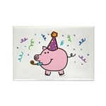 Party Rectangle Magnet (10 pack)