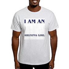 """""""Arizona Girl"""" Ash Grey T-Shirt"""