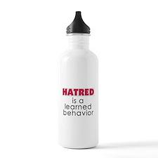 Hatred is learned Water Bottle