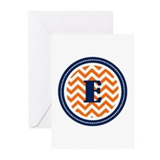 Orange & Navy Greeting Cards (Pk of 20)