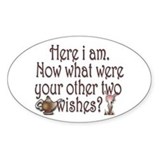 Two wishes Decal