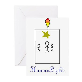 HumanLight Greeting Cards (Pk of 10)