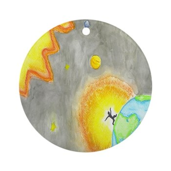 HumanLight Ornament (Round)