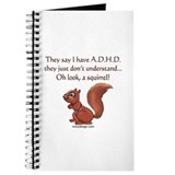 ADHD Squirrel Journal