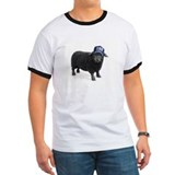 Squadron 282 Black Sheep Ringer Mens T-Shirt