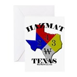 HazMat Texas Greeting Cards (Pk of 10)