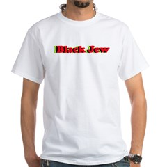 Black Jew White T-Shirt