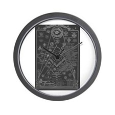 Cute Masonic symbol Wall Clock