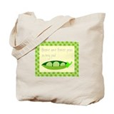 Three Peas in a Pod Tote Bag