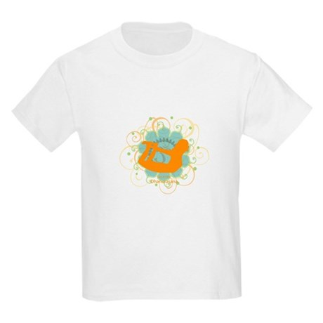 Get it om. Yoga Bow Pose Kids T-Shirt