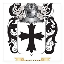 Julian Coat of Arms (Family Crest) Square Car Magn