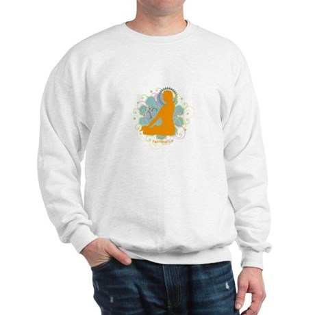 Get it Om. Lotus Posture, Yog Sweatshirt