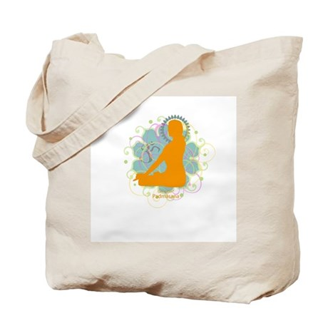Get it Om. Lotus Posture, Yog Tote Bag
