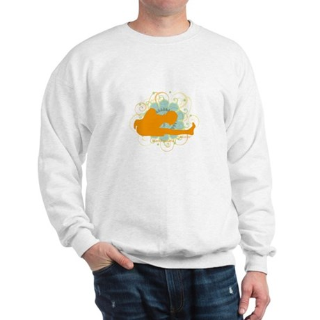 Get it om. Marichi Pose Yoga Sweatshirt