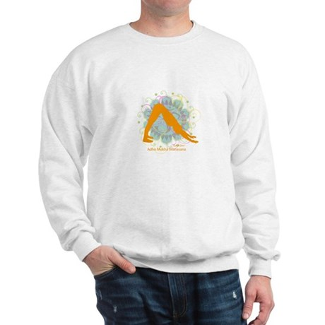 Get it Om. Downward Dog, Yoga Sweatshirt