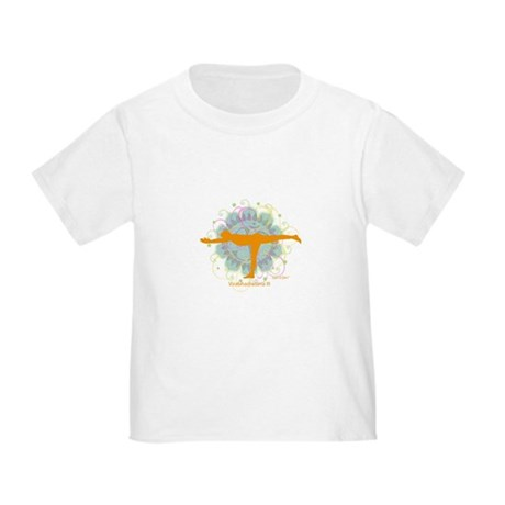Get it Om. Warrior III Yoga P Toddler T-Shi