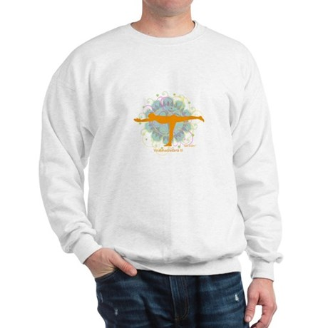 Get it Om. Warrior III Yoga P Sweatshirt
