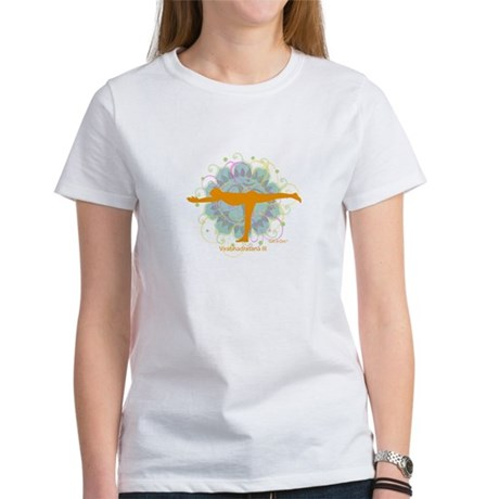 Get it Om. Warrior III Yoga P Women's T-Shirt