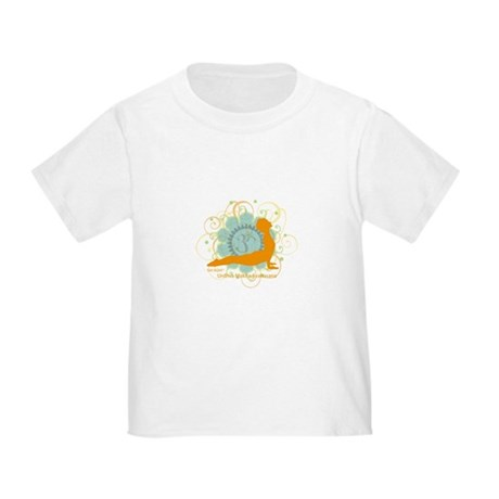 Get it Om. Upward Dog, Yoga P Toddler T-Shi