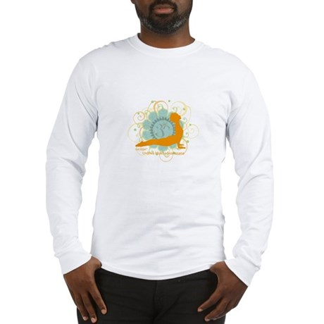 Get it Om. Upward Dog, Yoga P Long Sleeve T-Shirt