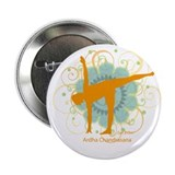 "Get it Om. Half Moon Yoga Pos 2.25"" Button (10 pac"
