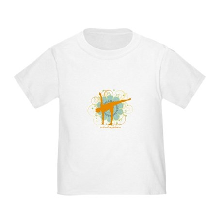 Get it Om. Half Moon Yoga Pos Toddler T-Shi