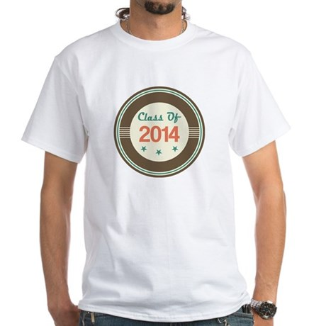 Class of 2014 Vintage White T-Shirt