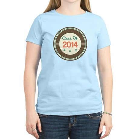 Class of 2014 Vintage Women's Light T-Shirt