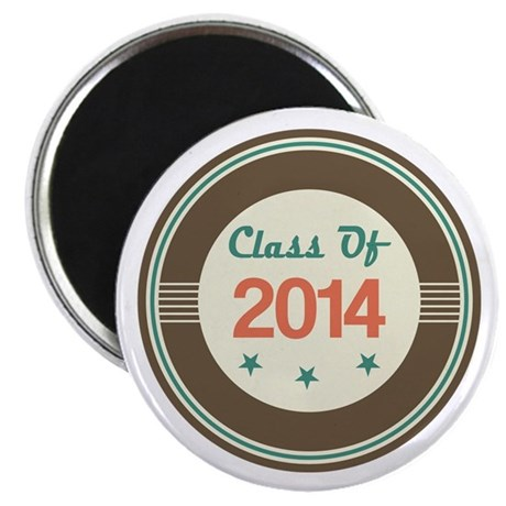 Class of 2014 Vintage Magnet
