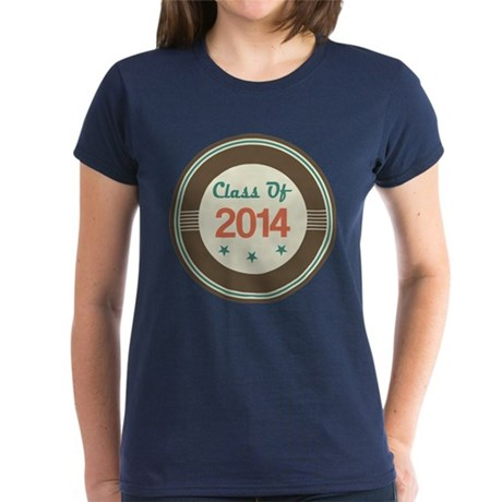 Class of 2014 Vintage Women's Dark T-Shirt