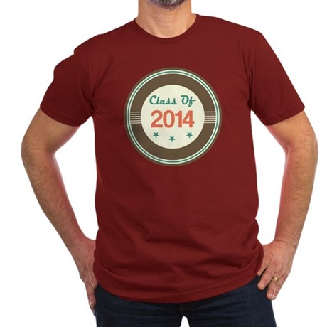 Class of 2014 Vintage Men's Fitted T-Shirt (dark)