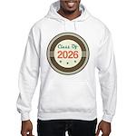 Class of 2026 Vintage Hooded Sweatshirt