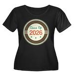 Class of 2026 Vintage Women's Plus Size Scoop Neck