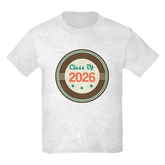 Class of 2026 Vintage Kids Light T-Shirt