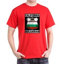 California Bulgarian American T-Shirt