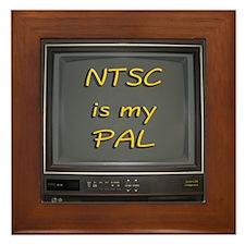 NTSC is my PAL Framed Tile