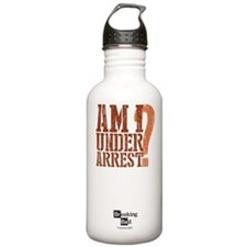 Am I Under Arrest Water Bottle