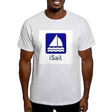 iSail Ash Grey T-Shirt