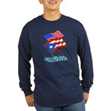 Long Sleeve Dos Banderas T-Shirt